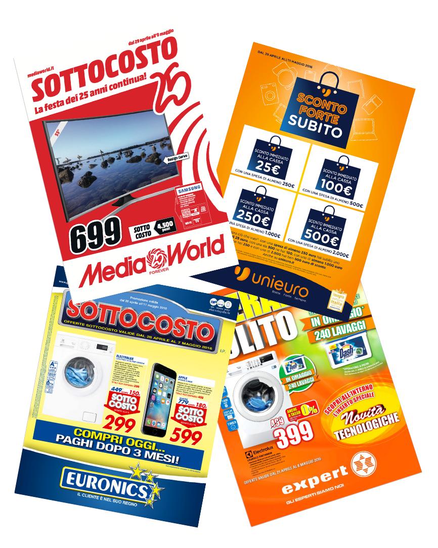 La settimana del sottocosto mediaworld e sconto forte - Unieuro porta tv ...