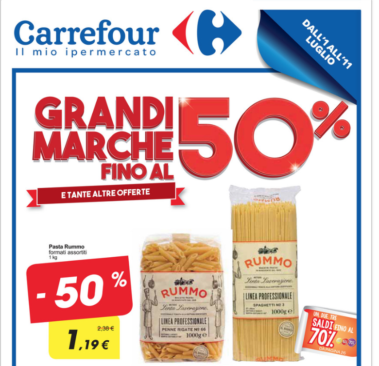 Nuovo volantino carrefour sconti fino al 50 anche sull for Carrefour arredo giardino 2017